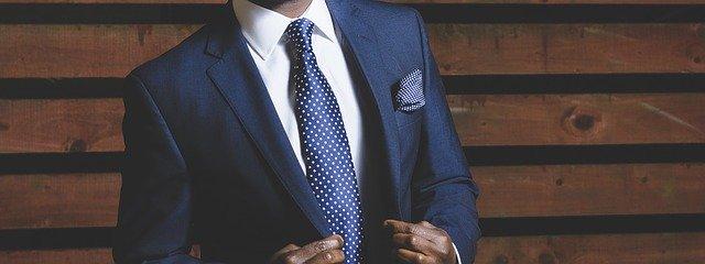 Klassisk och snygg slips